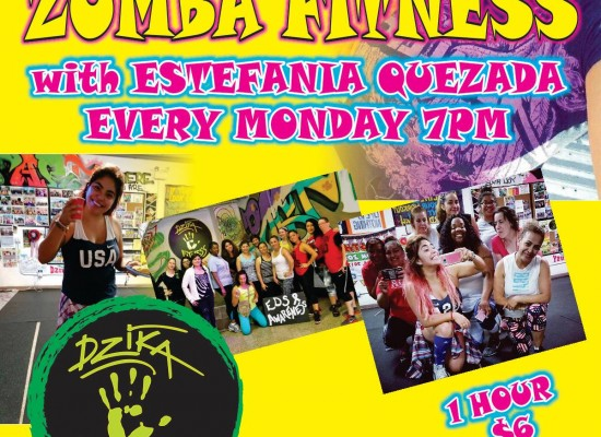 ZUMBA FITNESS WITH ESTEFANIA QUEZADA