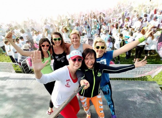 COLOR VIBE LAKE ZURICH 5K RUN 2017